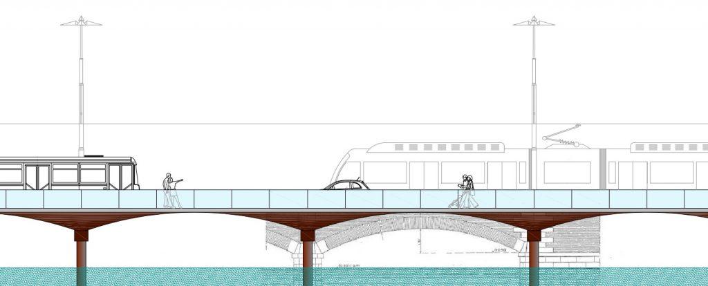 Tram Ponte della Libertà